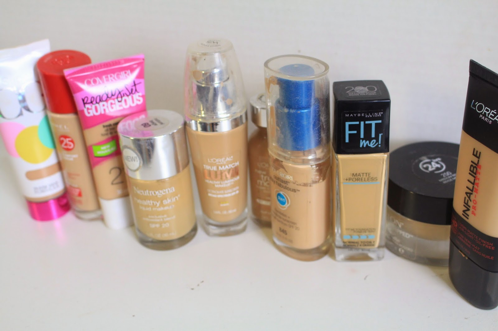 Beauty On A Budget Best Drug Store Foundations Brittany Sky